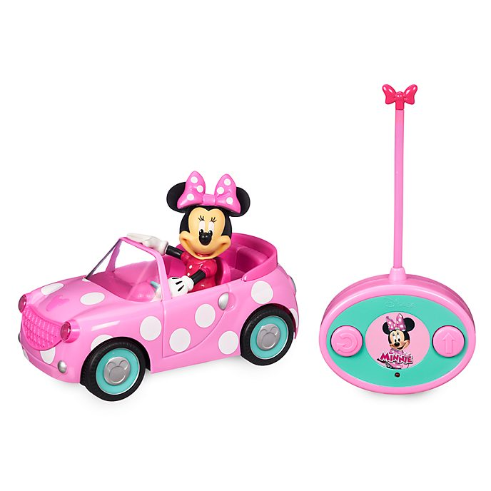Disney Store Minnie Mouse Remote Control Town Car