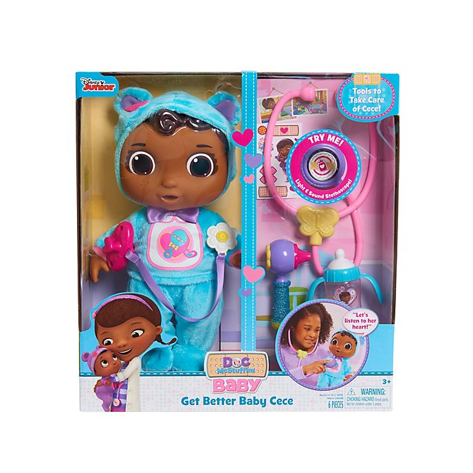 Disney Store - Doc McStuffins - Get Better Baby Cece Spielzeug