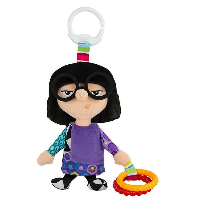 Edna Mode Clip and Go Baby Toy, Incredibles 2