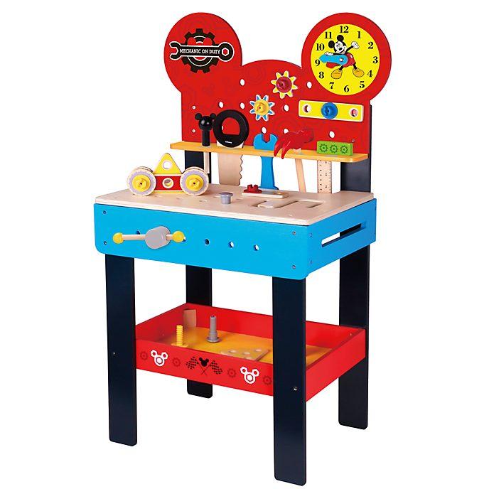 Be-Imex Établi de bricolage en bois Mickey Mouse