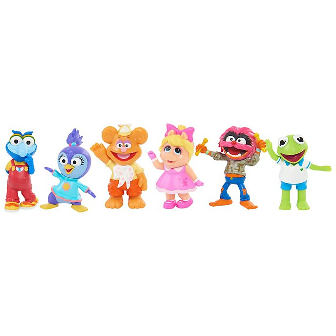 Muppet Babies Playroom Figurine Playset