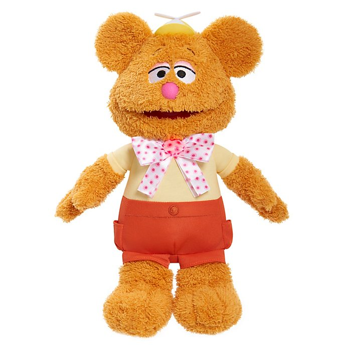 Fozzie Bear Wocka Wocka Feature Soft Toy, Muppet Babies