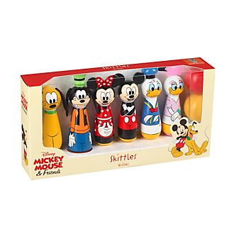 Mickey and Friends Wooden Skittles