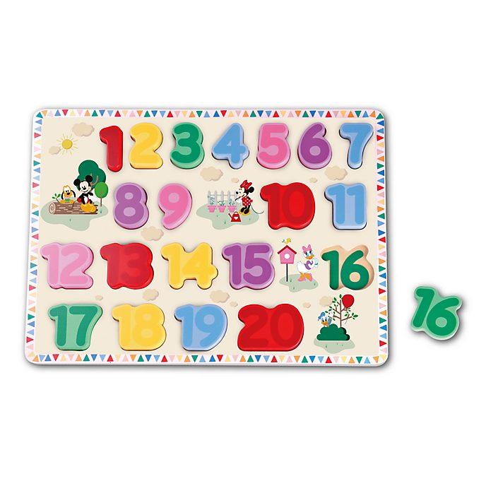 Be-Imex - Micky und Freunde - Zahlenpuzzle