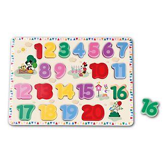 Puzzle numerico Topolino e i suoi amici Be-Imex
