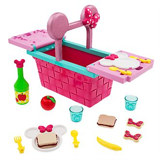 Disney Store Minnie Mouse Picnic Basket Playset