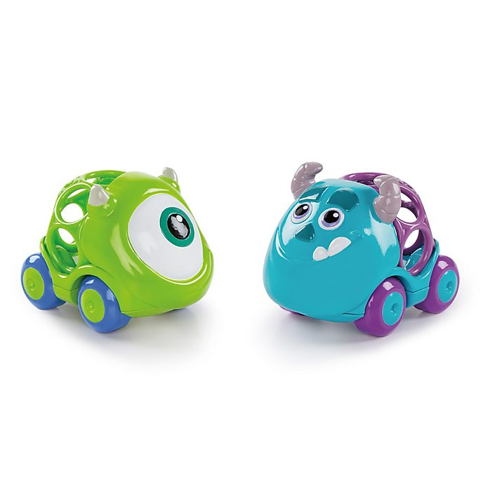 Set da gioco automobiline GoGripper Mike e Sulley Monsters & Co.