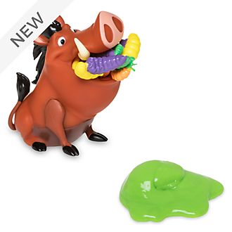 Disney Store SPARK Pumbaa Slime and Sounds Playset