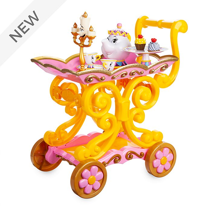 Disney Store Belle's Tea Cart, Beauty and the Beast