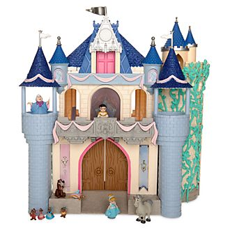 Set de juego de lujo castillo La Cenicienta, colección Disney Animators, Disney Store