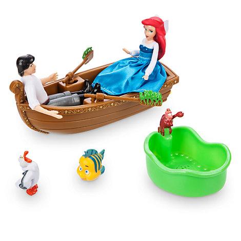 "Den lille havfrue badelegetoej med ""Gi' det kys""-tema"