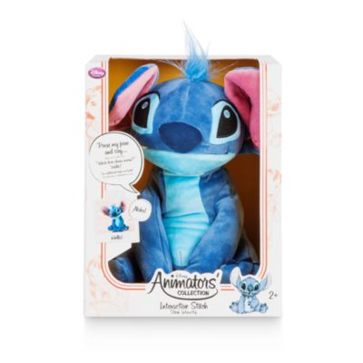 Disney Animators' Collection Interactive Plush Stitch