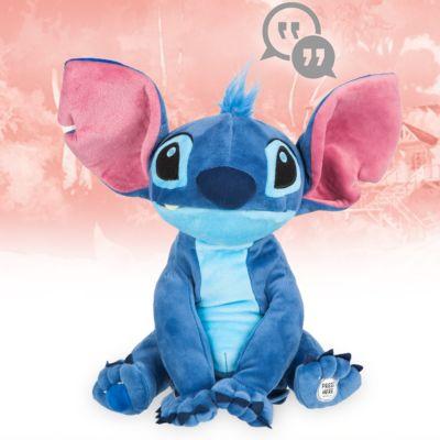 Peluche interactivo Stitch, colección Disney Animators