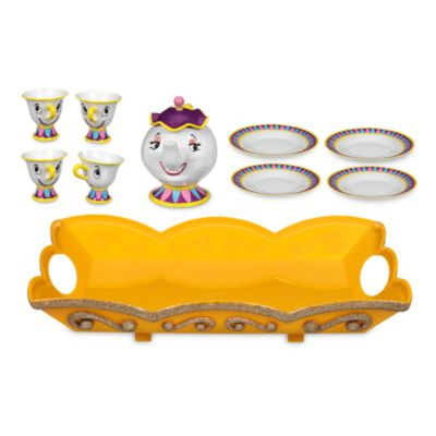 Beauty And The Beast Tea Set