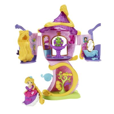 Rapunzel's Stylin' Tower Mini Doll Set, Tangled