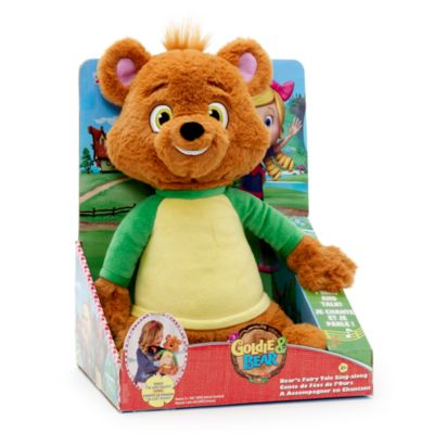 Peluche musicale Petit Ours Fairy Tale
