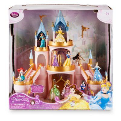 Set juego castillo luminoso princesa Disney