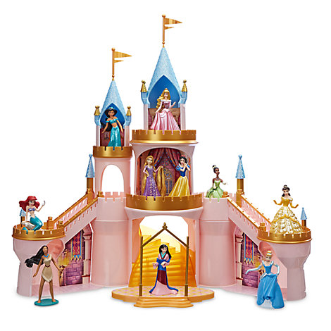 Disney Princess Light-Up Castle Playset