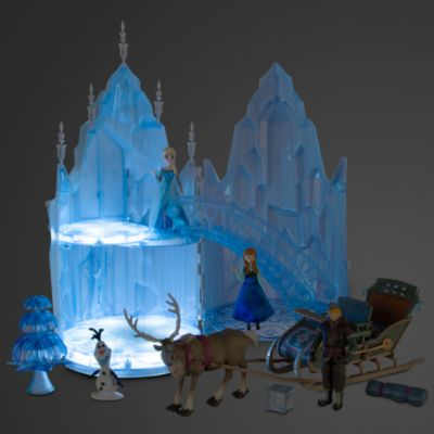 Ensemble de jeu Château de glace musical Elsa de La Reine des Neiges