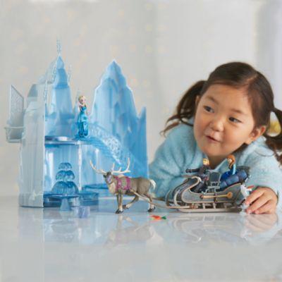 Die Eiskönigin - völlig unverfroren - Elsa Eisschloss Spielset mit Musik