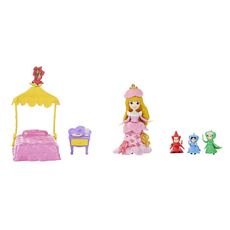 Aurora's Fairytale Dreams Mini Doll Set, Sleeping Beauty