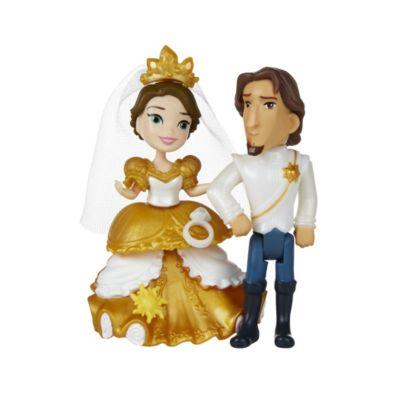 Ensemble mini poupée Le mariage royal de Raiponce