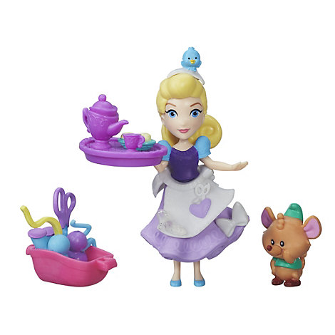 Cinderella's Sewing Party Mini Doll Set