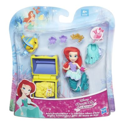 Ariel's Treasure Chest Mini Doll Set, The Little Mermaid
