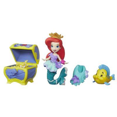 Ensemble mini poupée et coffre au trésor d'Ariel, La Petite Sirène