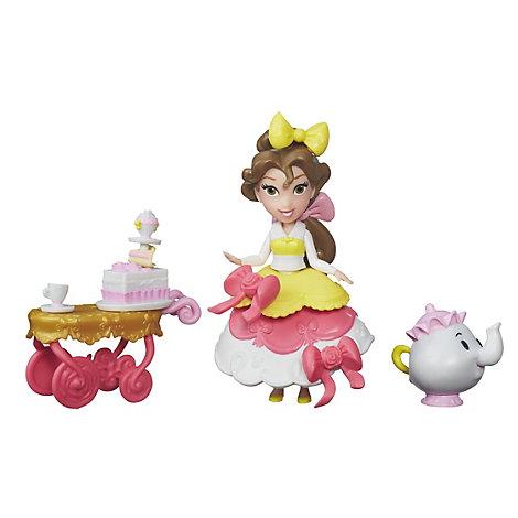 Ensemble mini poupée Desserte de Belle, La Belle et La Bête