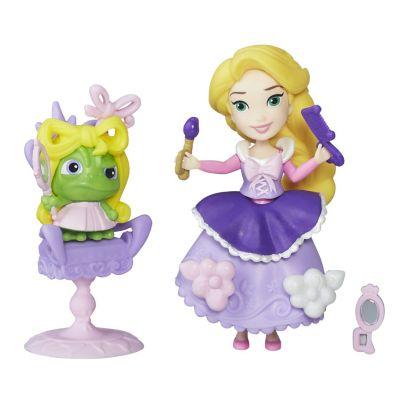 Rapunzel fra To på flugt, minidukkesæt med frisørsalon