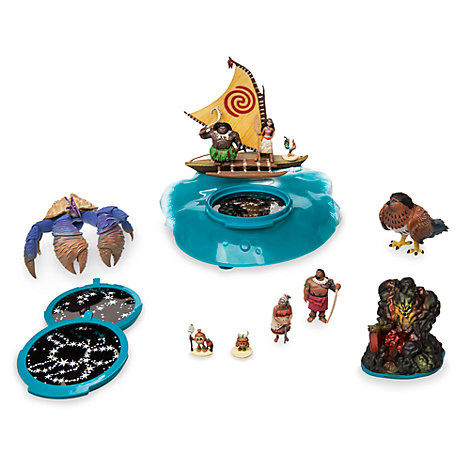Vaiana - Boot Spielset mit Projektion