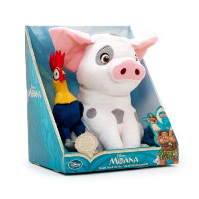 Pua & Hei Hei Soft Toy Set, Moana