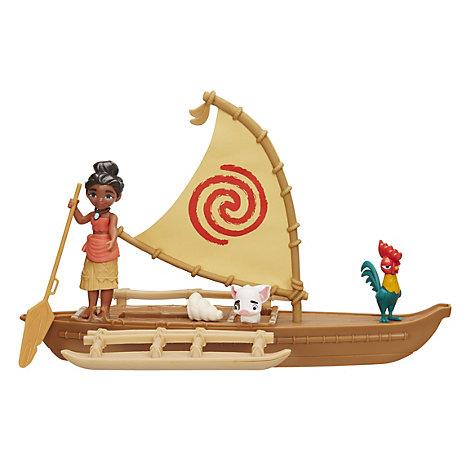 Vaiana legesæt til kanoeventyr