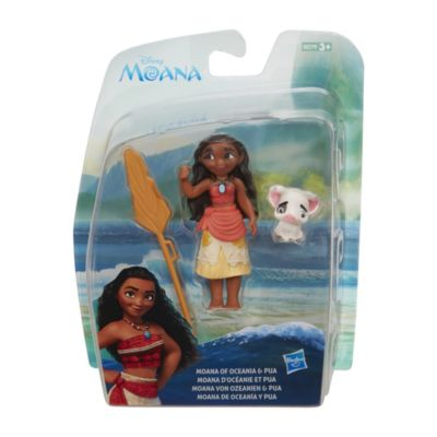 Ensemble de figurines Vaiana et Pua