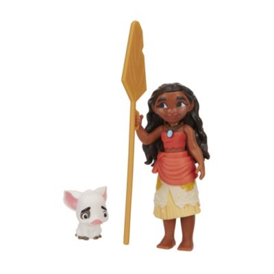 Moana and Pua Figurine Set