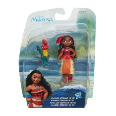 Moana and Hei Hei Figurine Set