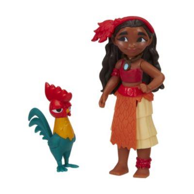 Set de figuritas de Vaiana y Hei Hei