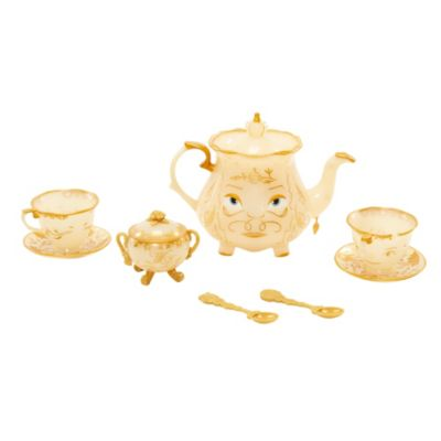 Beauty and the Beast Enchanted Objects Tea Set