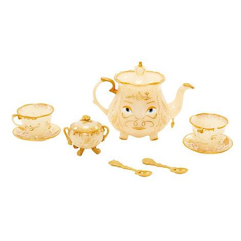 Service à thé Objets enchantés, La Belle et la Bête