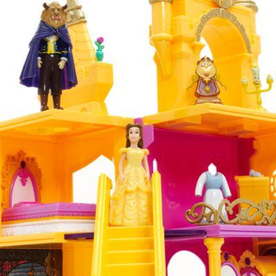 Set de juego exclusivo del castillo de La Bella y la Bestia
