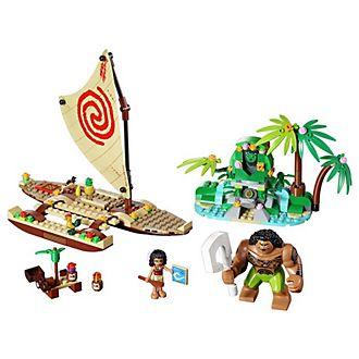 Set LEGO Viaggio in mezzo all'oceano con Vaiana 41150
