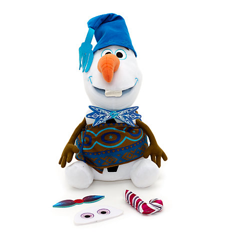 Peluche chantante interchangeable Olaf, taille moyenne