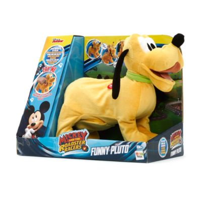 Funny Pluto Mechanical Toy, Mickey and the Roadster Racers
