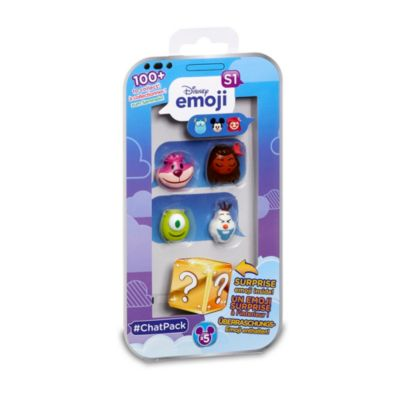 Ensemble de 4 Emojis surprise Disney Emoji #ChatPack à collectionner