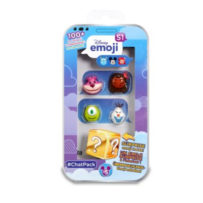 #ChatPack Disney Emoji da collezione, 4 scatole a sorpresa