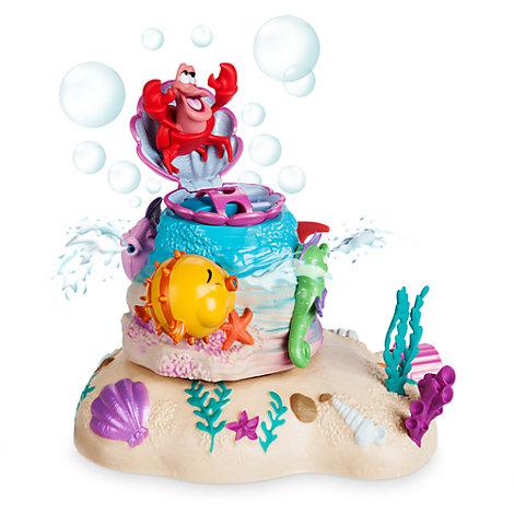 Ensemble fontaine à bulles La Petite Sirène