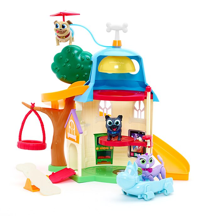 Disney Store Puppy Dog Pals Doghouse Playset