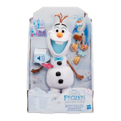 Olaf's Frozen Adventure Snack Time Surprise Toy