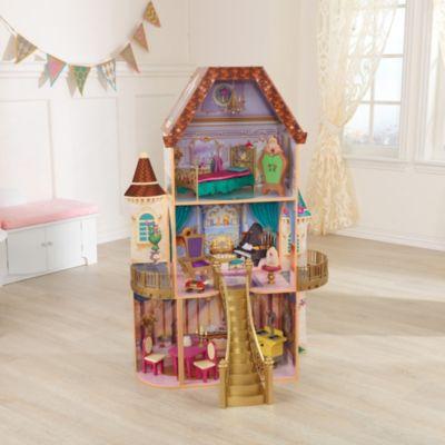 Casa de muñecas encantada La Bella y la Bestia